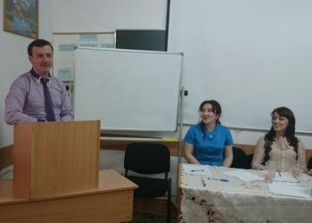 Встреча студентов с Председателем дагестанского Клуба маркетологов прошла в ДГТУ
