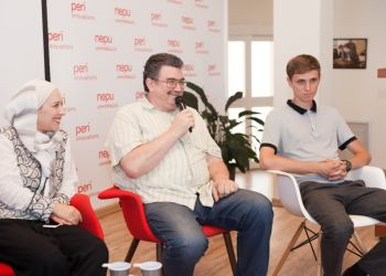 Встреча в бизнес инкубаторе «Пери Инновации»