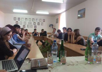 Встреча Актива Клуба со студентами